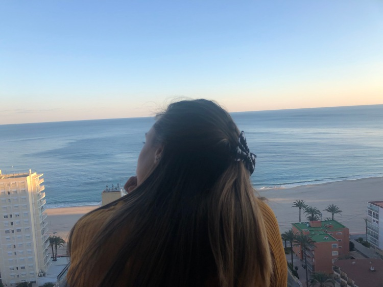 view of benidorm from el faro apartments