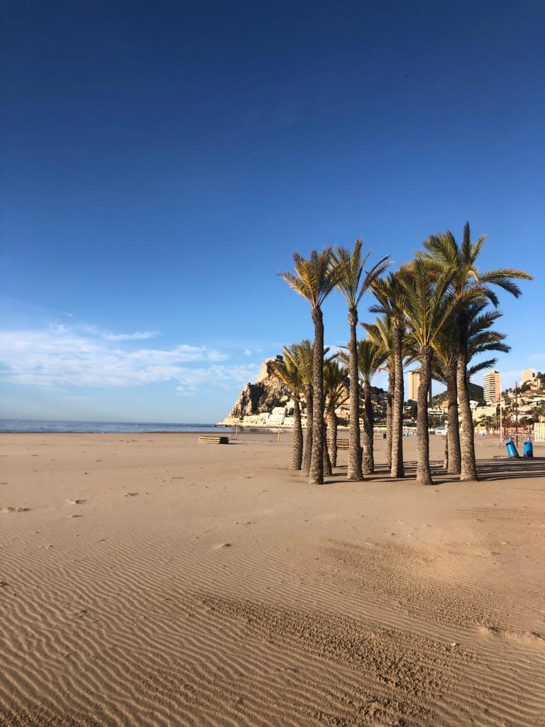 The gorgeous Benidorm beach