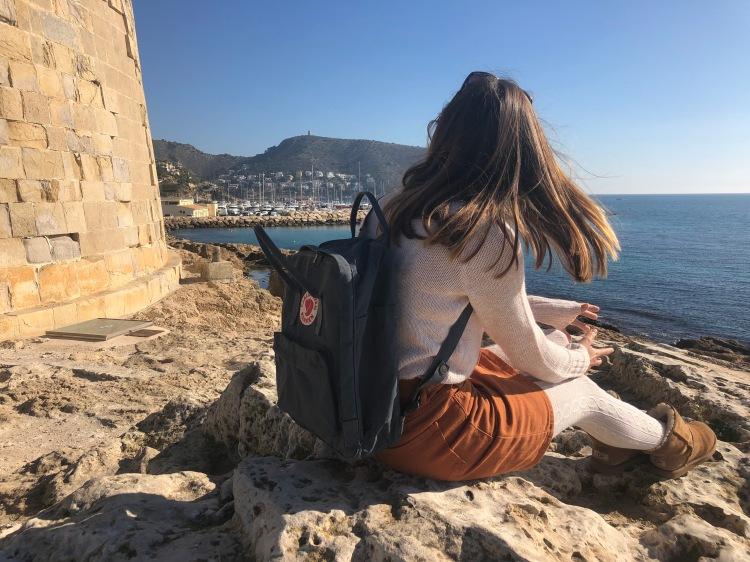 kånken backpack in moraira