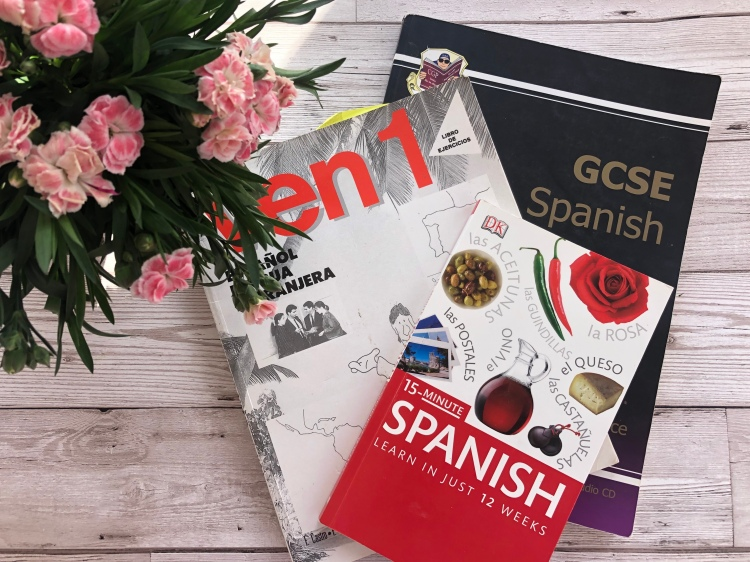 recommended books to learn a second language dk spanish, ven 1 and cgp spanish