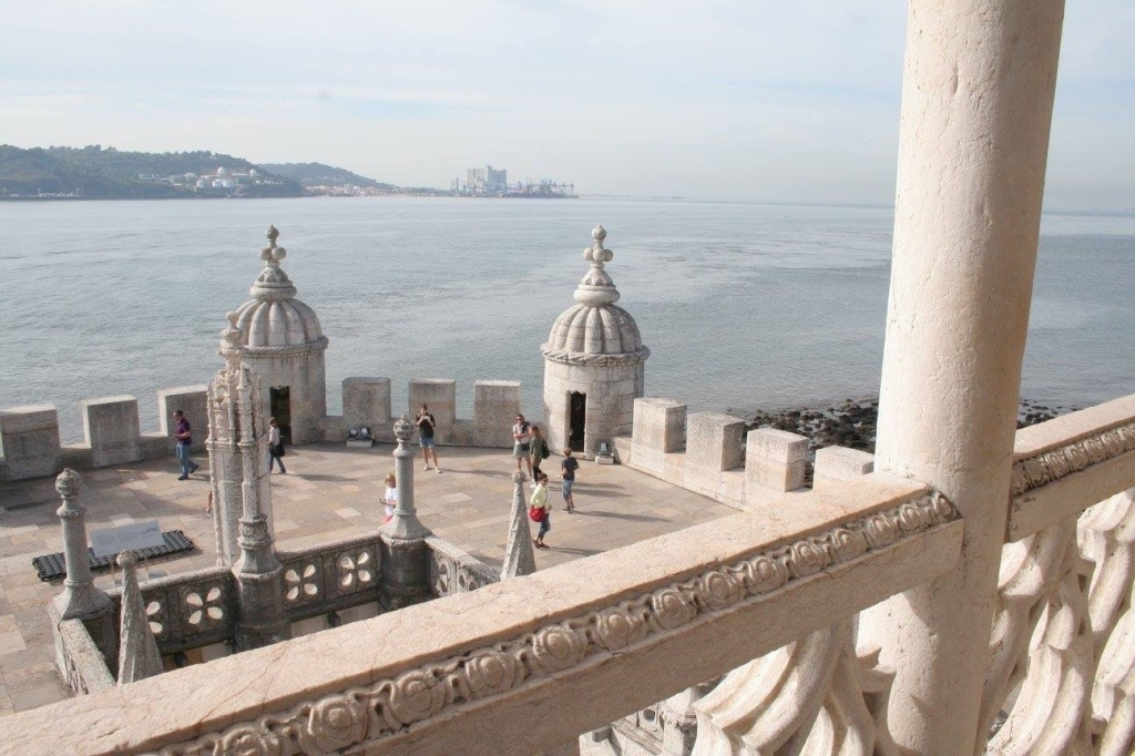 View from Belem tower
