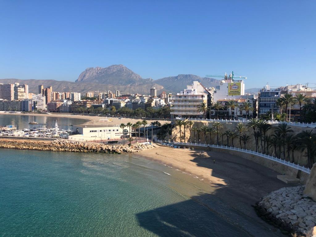 Benidorm balcon de mediterraneo  viewpoint