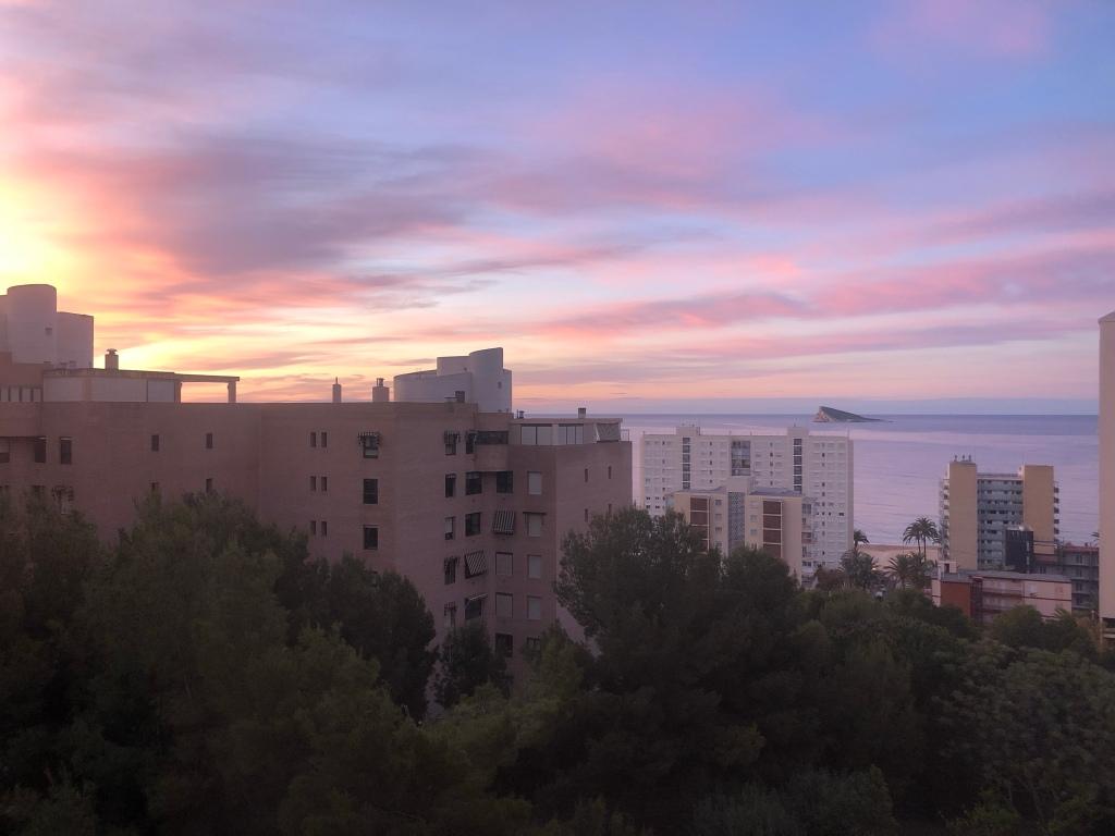 Benidorm sunrise