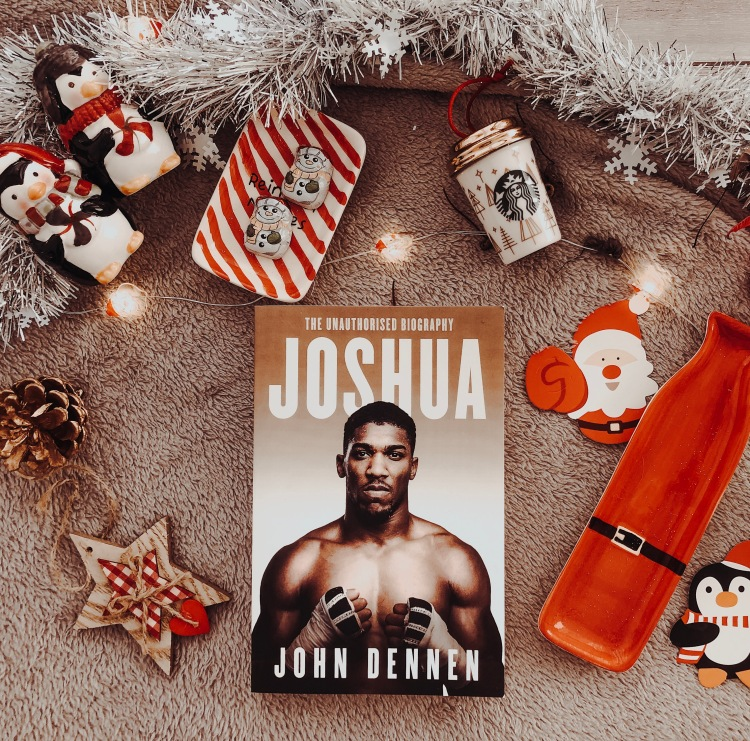 anthony joshua flatlay book christmas