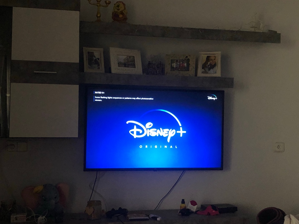 Disney plus released in Spain during lockdown