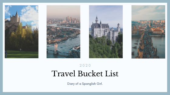 2020 travel bucket list