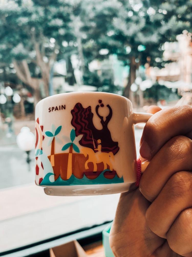 Spain Starbucks you are here mug Alicante