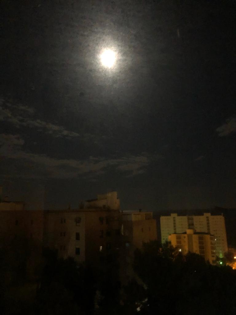 Benidorm full moon lockdown