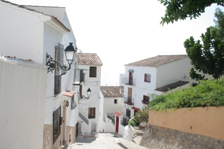 view of white in altea