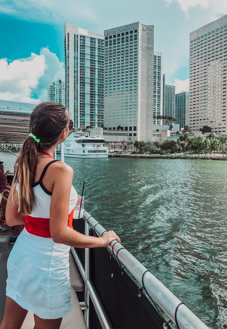 celebrity boat tour miami
