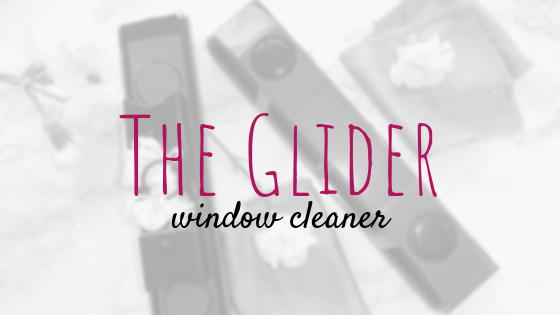 the glider window cleaner