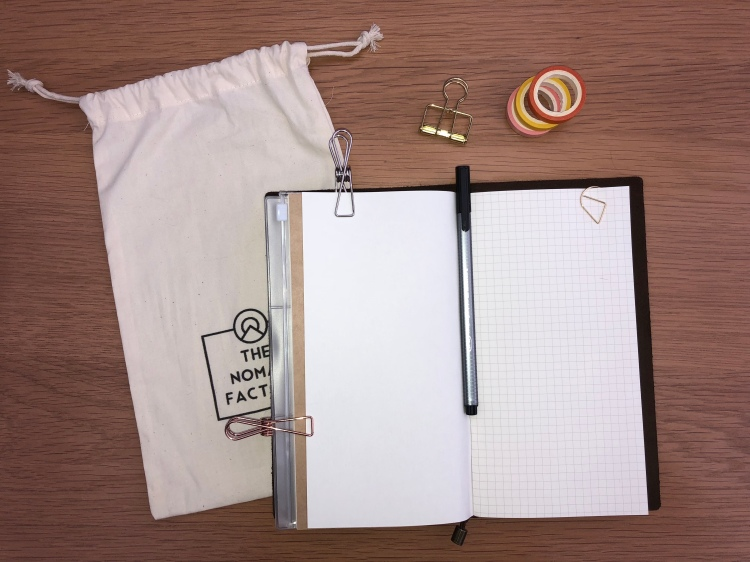nomad factory review the bullet journal travel journal