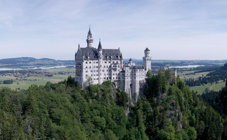 cinderella castle in germany