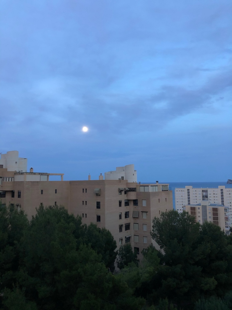 Benidorm full moon May 6 2020