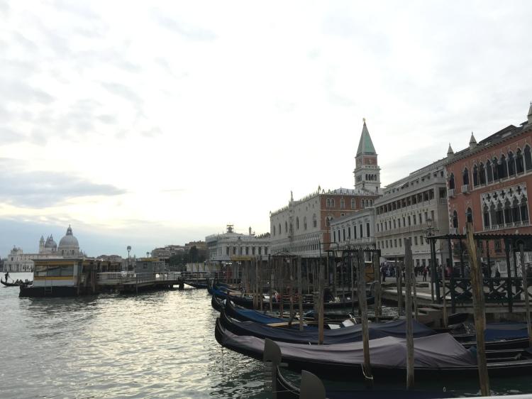 scenic photo of venice italy
