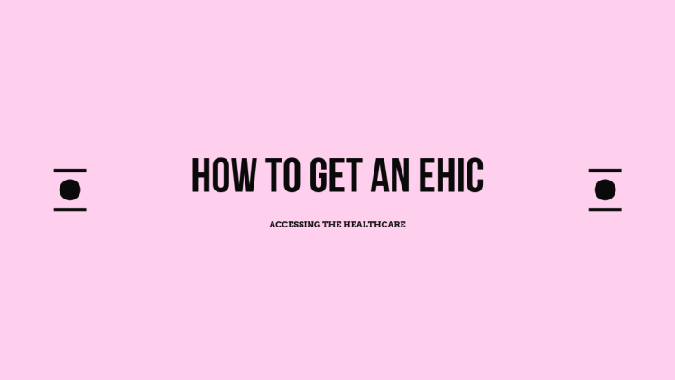 how to get an ehic
