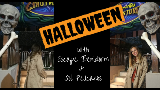 halloween with escape benidorm and sol pelicanos