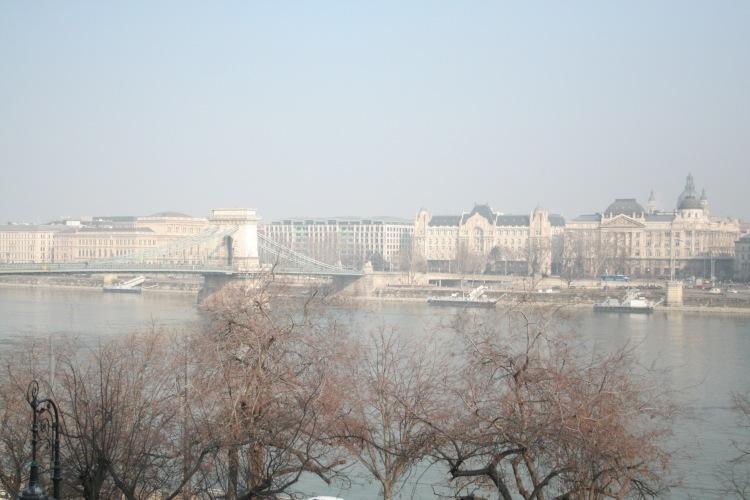 budapest travel guide view of danube andchain bridge