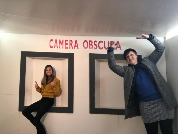 camera obscura room