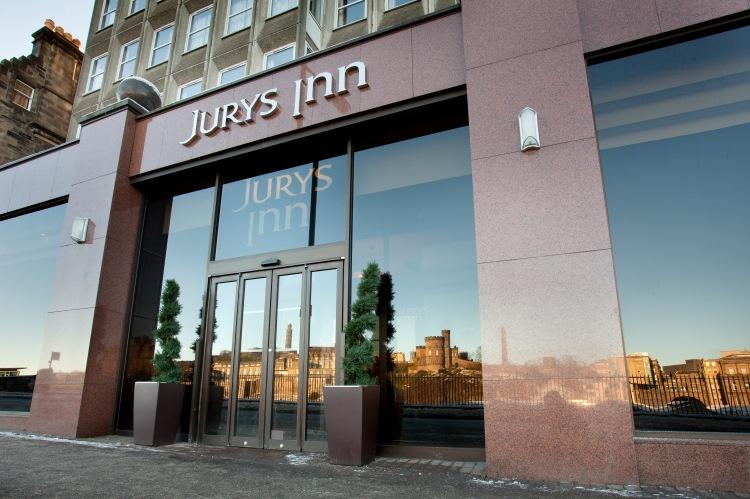 edinburgh exterior jurys inn