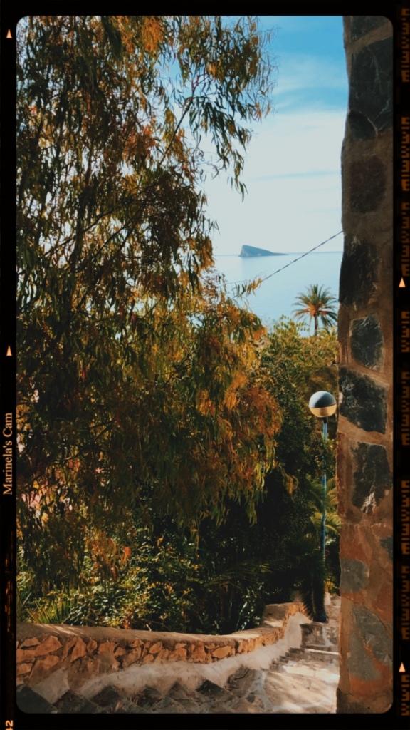 Vintage retro Benidorm image