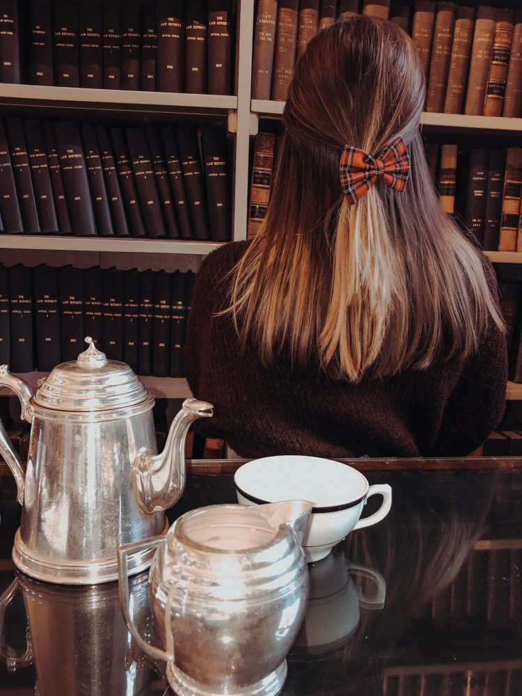 afternoon tea at the colonnades edinburgh signet library