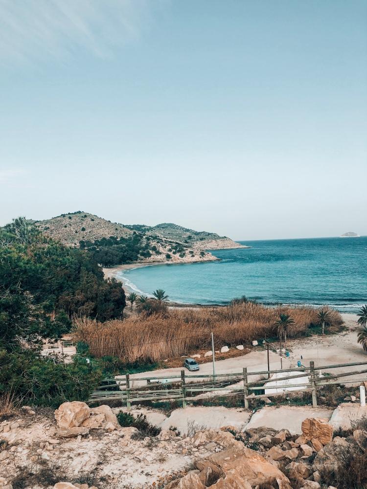 Playa del torres Villajoyosa Benidorm camping