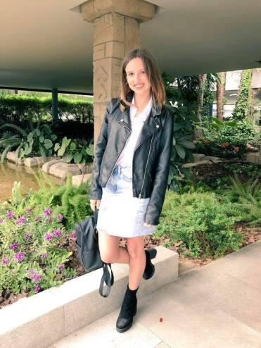 Denim Skirt from New Look