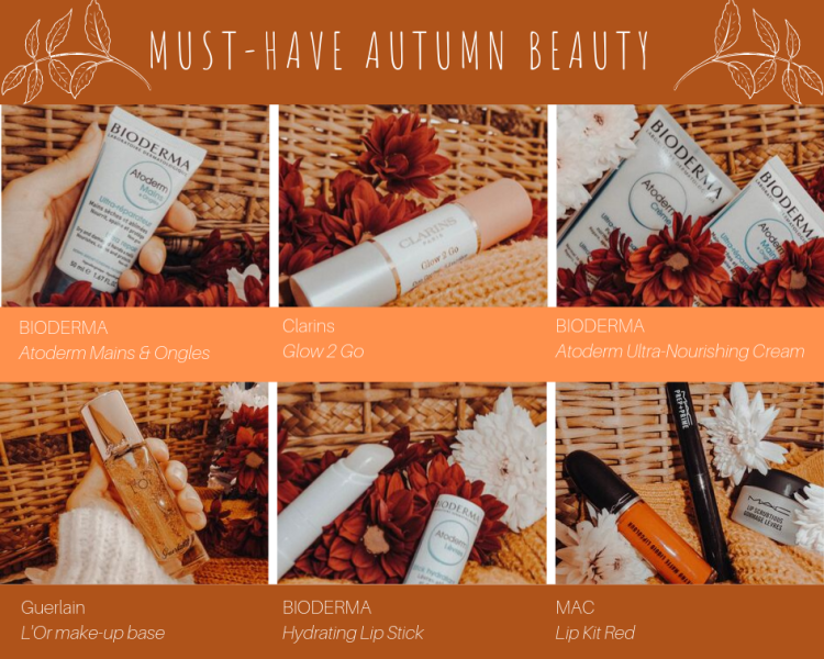 10 must have beauty products for autumn