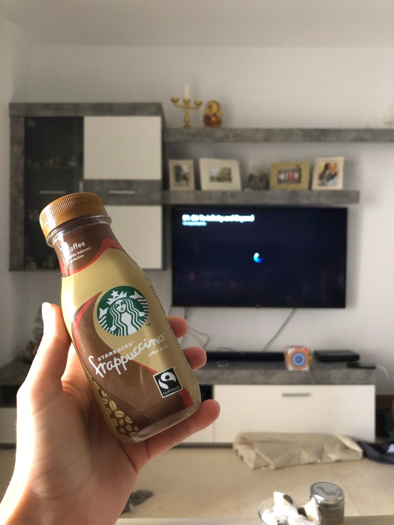 Frappuccino drink from carrefour