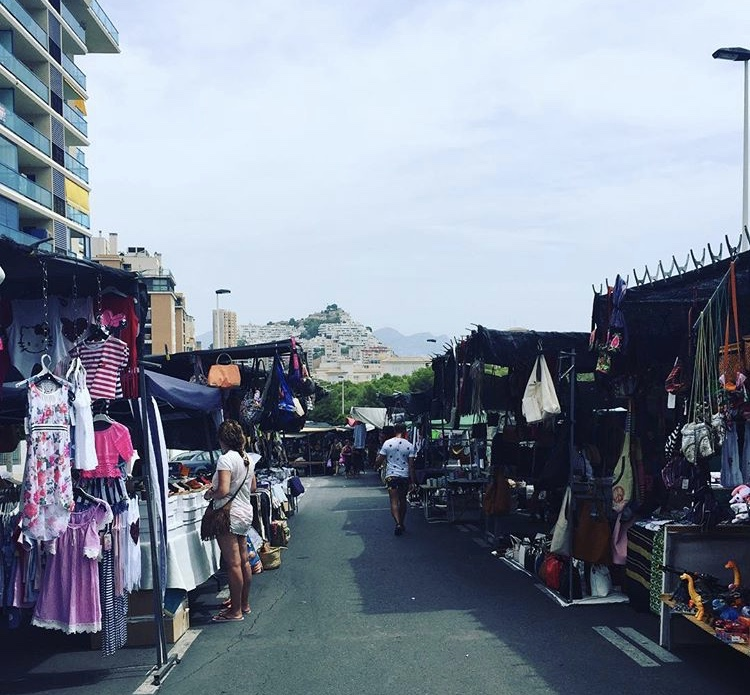 when is la cala market? tuesday and saturday! the market at the bay in benidorm