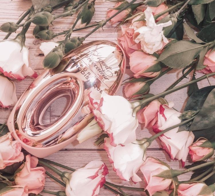 agent provocateur perfume valentines flatlay
