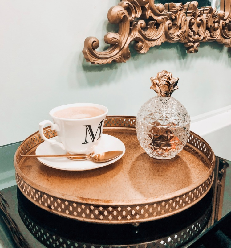 malcolm murphy hair tea cup and cake