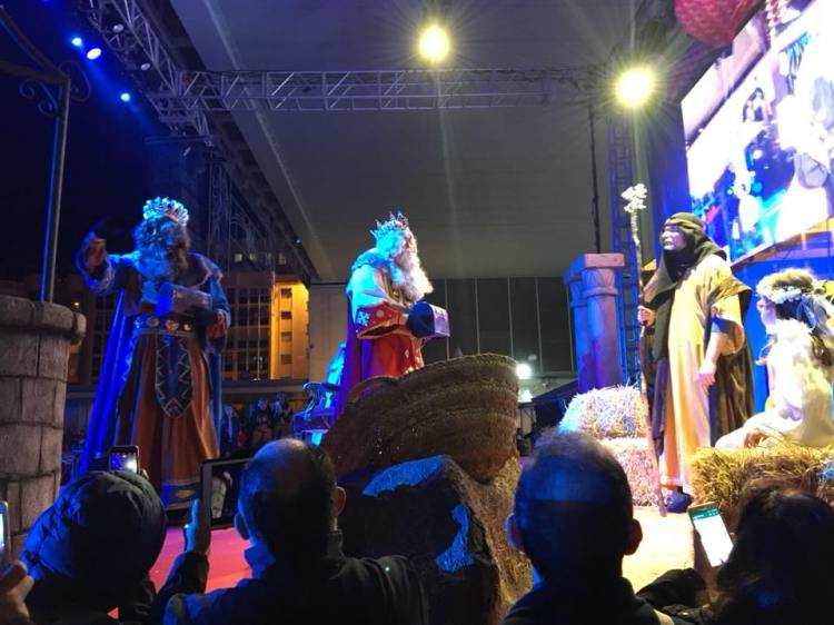 king's day parade three kings christmas benidorm