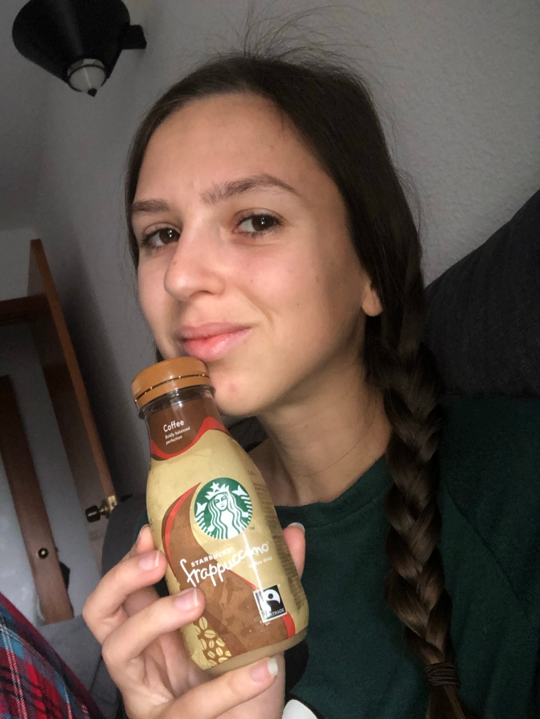Frappe from Starbucks in lockdown