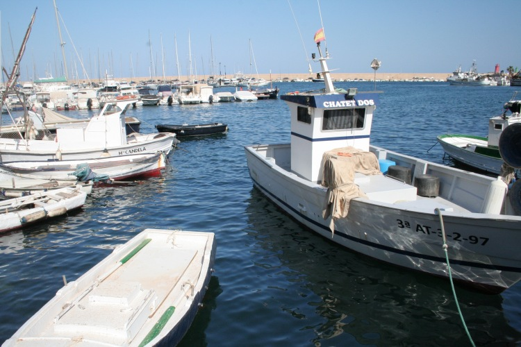 javea xabia port fisherman costa blanca