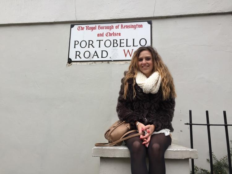 Portobello Road London sign Notting Hill