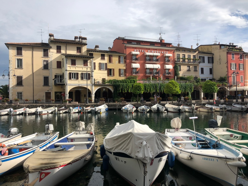 desenzano del garda travel guide small harbour with boats docked