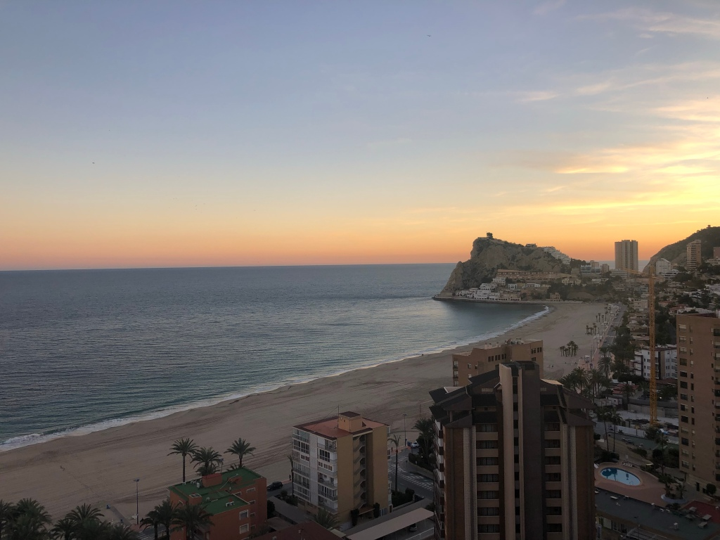 Benidorm sunset