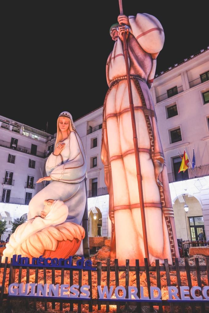 A guinness world record nativity scene